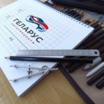 Разработка фирменного стиля автотехцентра Геларус